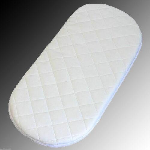 Super Soft Baby Moses Pram Basket Mattress Extra Thick Comfy Cushy 75 x 29