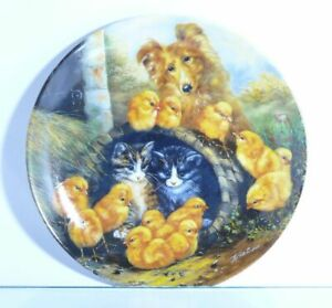 Collection-Plate-Vohenstrauss-Johann-Sallie-IN-Storm-Erobert-Animal-Faces-Boxed
