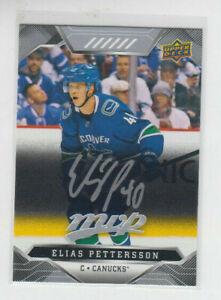 19-20-UD-MVP-Vancouver-Canucks-Elias-Pettersson-Silver-Script-card-133