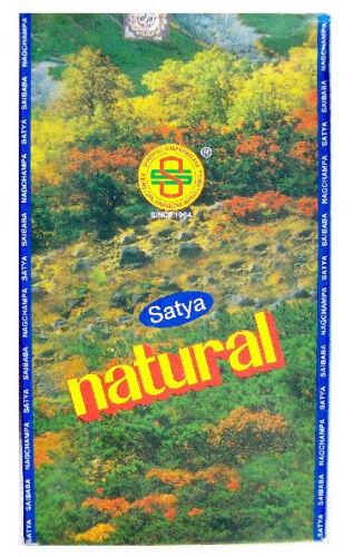 Shrinivas Sugandhalaya Neu Satya Natural  Indische Räucherstäbchen 180g BOX