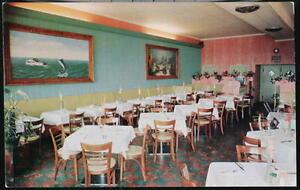 OCEAN-CITY-MD-Parson-039-s-Seafood-Restaurant-Interior-View-Vintage-Postcard-Old-PC