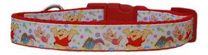 rosso-Winnie-the-Pooh-Cane-di-media-taglia-COLLARE-PER-CUCCIOLO-4-MISURE-1-9cm
