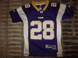 Details about Minnesota Vikings Adrian Peterson Reebok NFL Jersey Youth S 6-8 children