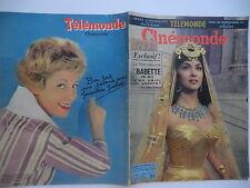 Cinémonde n°1282- 1959 : Brigitte Bardot Babette s'en va-t- en guerre