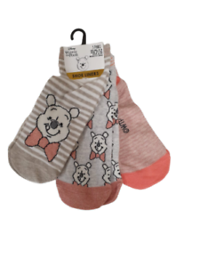 Barbie 3 Pairs Socks Women/'s Ladies Brand New Primark UK4-8 Free P/&P
