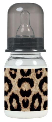 Estrella de rock bebé leopardo botella 125 ml