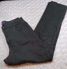 Gloria Vanderbilt Womans Size 10 Jeans Amanda Green Straight Leg