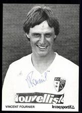 Vincent Fournier Autogrammkarte FC Sion Original Signiert+A 94427