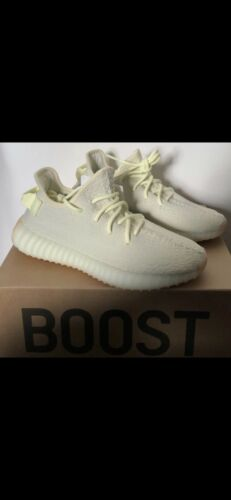 Boost Beurre 350 Uk V2 8 Authentique 100 Yeezy Taille Adidas 5IUx11