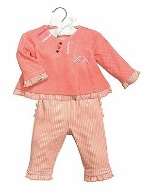 Baby Dumpling C.R April Fits Sizes 0-6 Months Gibson Knotted Gown /& Cap Set