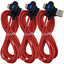 3-Pack-3-6Ft-Braided-USB-Type-C-Cable-Samsung-Charger-Cord-Fast-Charge-90-Degree miniature 11