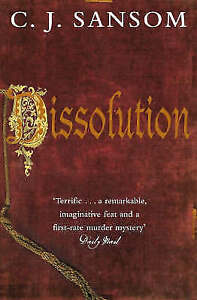 Dissolution. World Book Night 2011, C. J. Sansom, Very Good Book