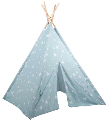Zelt für Kinder Tipi Zelt Spielzelt mit Dreiecken Zelten Kinderzelt Indianerzelt