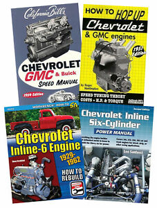 Ultimate-Chevrolet-Inline-6-Engine-Rebuild-Power-Manual-And-Box-Set