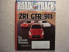 Road & Track 2010 June Corvette ZR1 Nissan GT-R Porsche 911 Jaguar XJ Audi RS