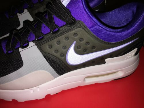 the latest d0c94 b7971 2 sur 12 NIKE AIR MAX ZERO QS Black Purple scarpe uomo taglia 44 ITA 10 US  perfette