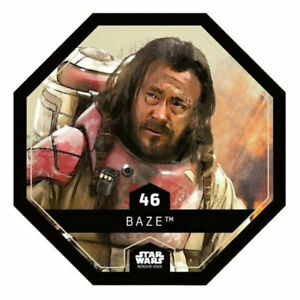 "Baze 2016 Carte Leclerc Star Wars /""Rogue One/"" N°46"