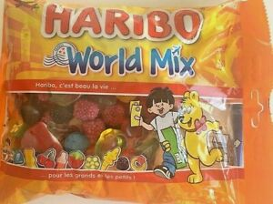 Haribo-World-Mix-Gummibaerchen-Himbeeren-Brombeeren-Ehering-Verlobungsring-Baeren