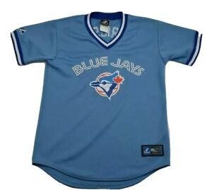 Alex-Rios-Toronto-Blue-Jays-Majestic-AUTHENTIC-MLB-Baseball-Jersey-womans-Large
