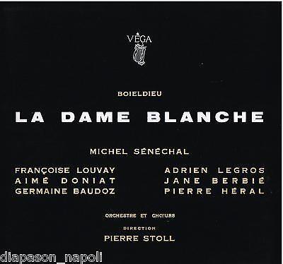 Boieldieu: La Dame Blanche Stoll, Sénéchal, Louvay, Legros, Doniat LP Vega | eBay