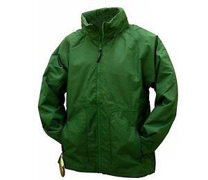 MENS REGATTA FLEECE LINED GREEN WATERPROOF JACKET M-XXXL RRP £56 ...