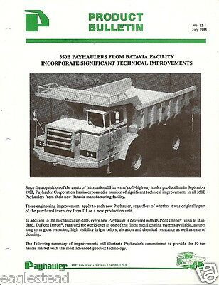 Dresser World Class Haulpak Ridif Frame Haul Trucks 140M /& 210M Sales Brochure
