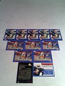 Henry-Williams-Lot-of-20-cards-3-DIFFERENT-Football-CFL