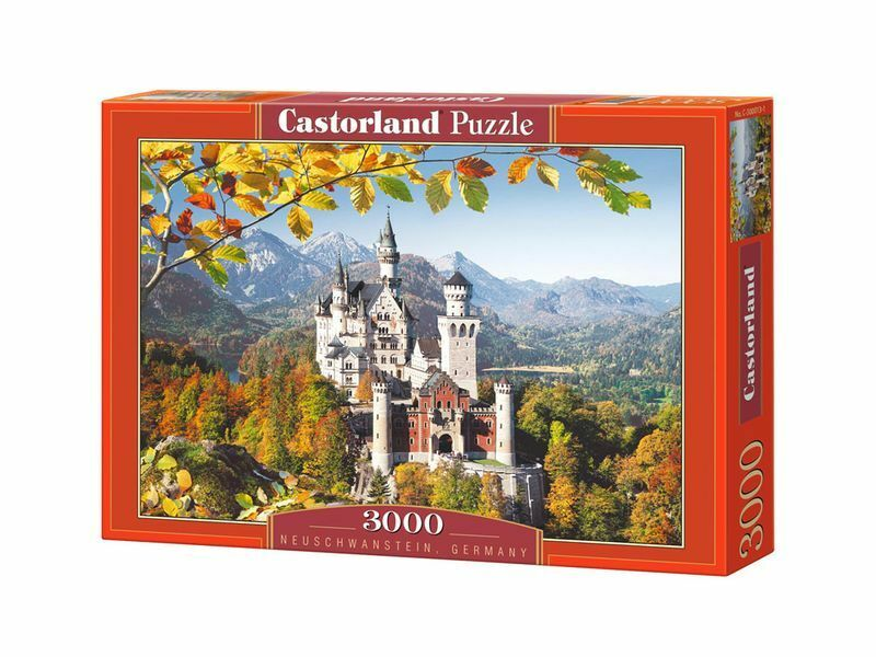 Castorland Puzzle 3000 Pieces Neuschwanstein 92x68cm 36 x27  Sealed box C-300013