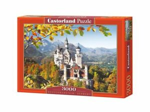 "Castorland Puzzle 3000 Pieces Neuschwanstein 92x68cm 36""x27"" Sealed box C-300013"