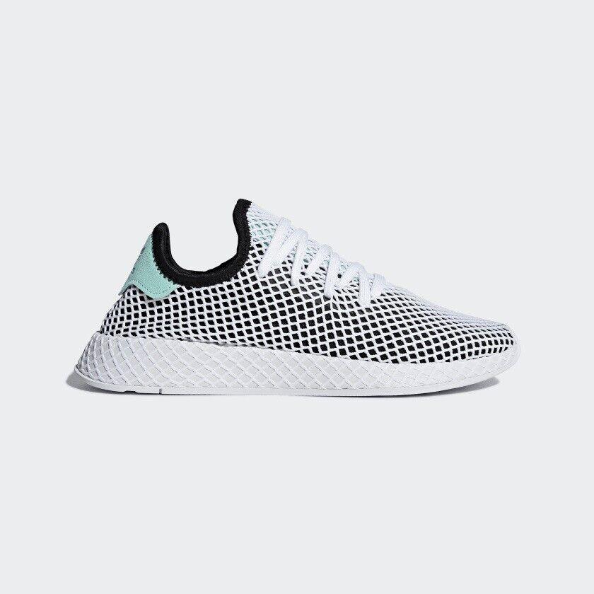 Men's adidas Deerupt Runner shoes - Black - B28076