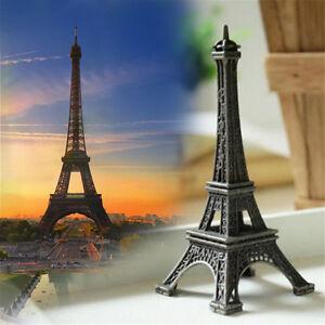 Paris-Eiffel-Tower-10cm-High-Statue-Souvenir-Home-office-Decor-Vintage-Bronze-DL