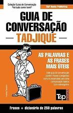 Guia de Conversacao Portugues-Tadjique e Mini Dicionario 250 Palavras by...