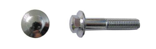 Pitch 1.25 par 10 10 mm clé taille Boulons Chrome Hexagonal 8 mm x 45 mm