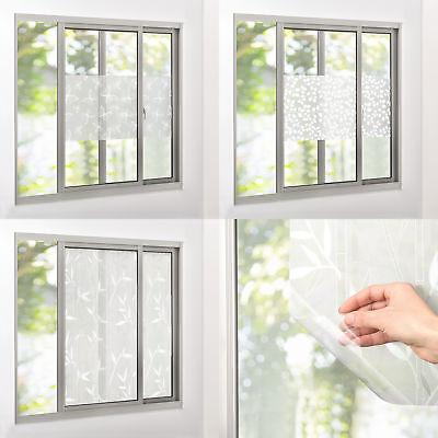 ® Sichtschutzfolie 100cm x 5m statisch Milchglasfolie Folie gestreift casa.pro