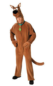 Adulte-Hommes-Scooby-Doo-Chien-Deguisement-Costume-Deguisement-Fete