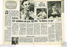 Coupure de presse Clipping 1974 (2 pages) Emission Au Theatre ce soir