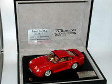 High Tech Modell, Porsche 959, No 001 of 200, silvercar 1988, 650 g Silber, 1/24