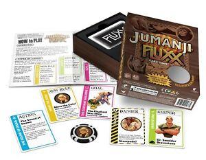 Jumanji-Fluxx-w-7-Bonus-Cards-amp-Coin-Game-Looney-Labs-Edition-Card-Game-LOO-103