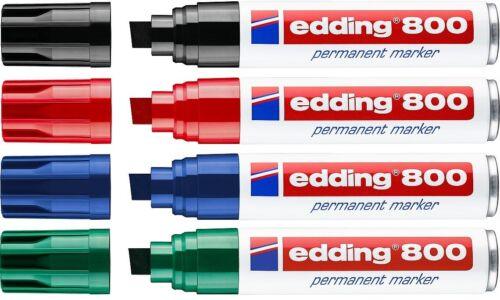 Edding 3000//3300//800//500//550//400 Permanentmarker Decomarker Farbauswahl NEU