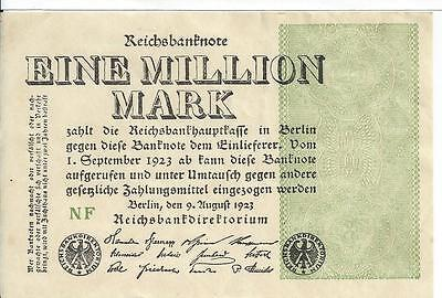 German 2 Million Marks Zwei Millionen Landesbank Darmstat 22 August 1923 C Unc