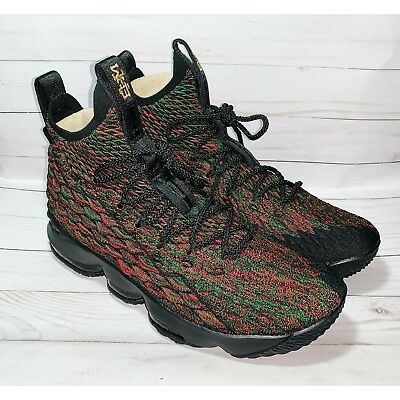 Nike Lebron XV 15 BHM Black History Month LMTD JAMES LBJ Size 10 897650-900