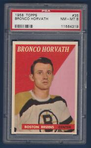 BRONCO-HORVATH-58-89-TOPPS-1958-59-NO-35-PSA-8-13748