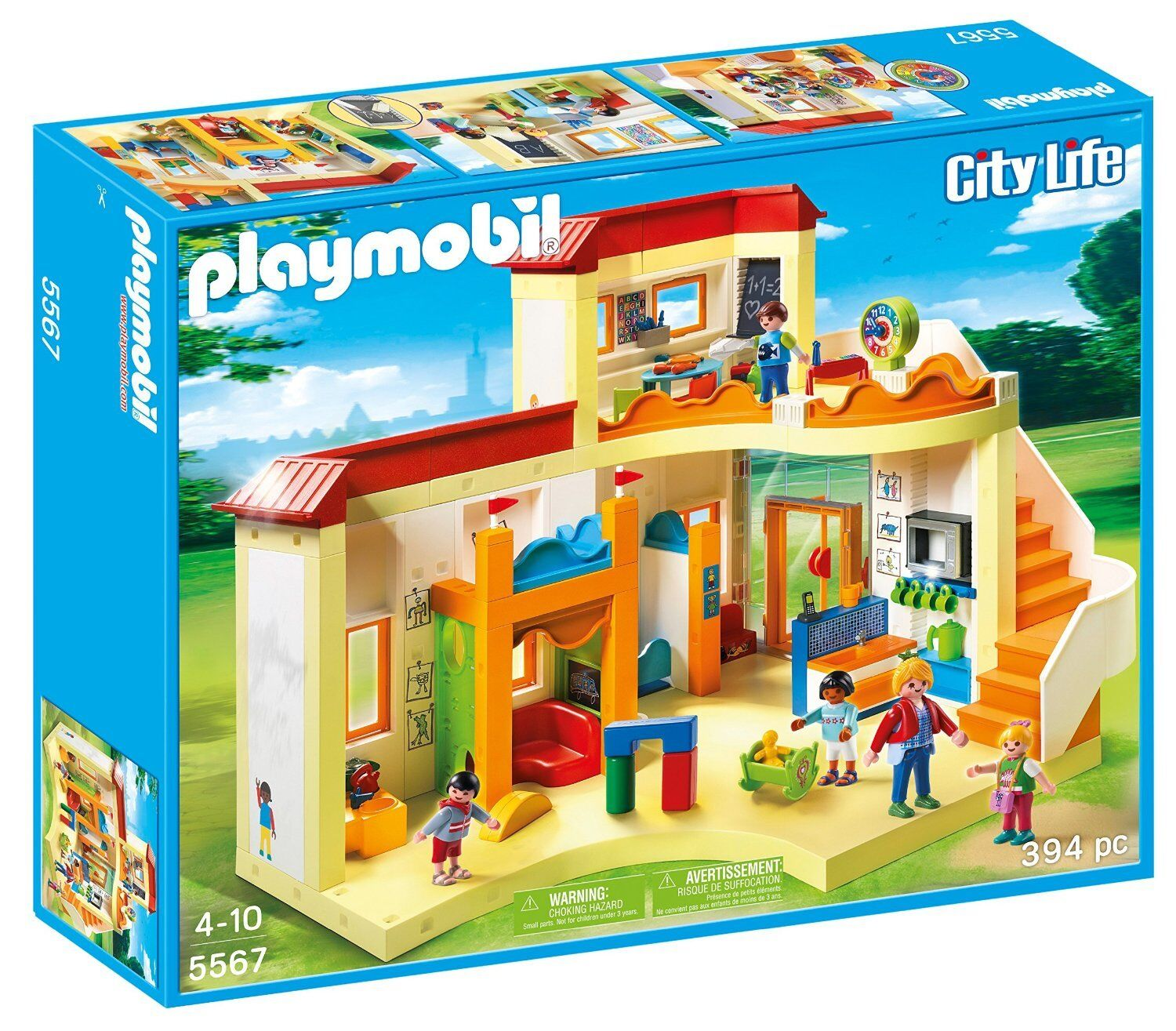 Playmobil City Life 5567 Guardería Infantil - New and Sealed