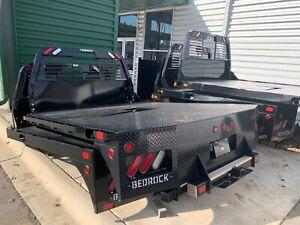 Curt Gooseneck Hitch >> Bedrock Diamond Series Truck Bed Flat Bed (Flatbed ...