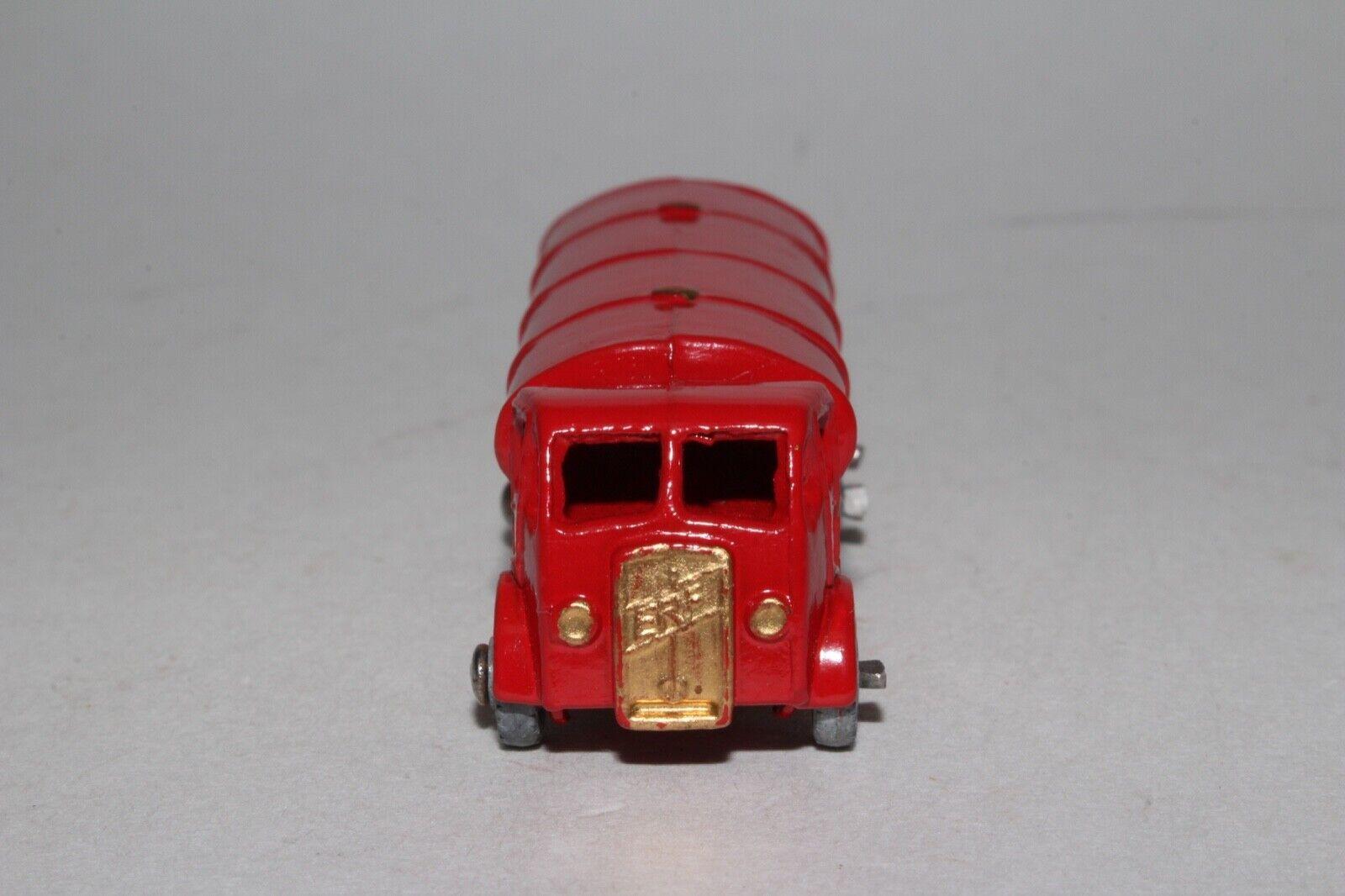 MATCHBOX LESNEY A ERF PETROL GASOLINE TANKER, TANKER, TANKER, RED, gold TANK TRIM, NICE 89500d