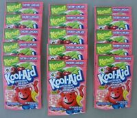 15 Packets Of Kool-aid Drink Mix: Cherry Limeade, Powdered, Unsweetened