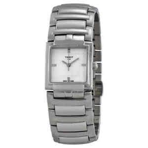 NEW-Tissot-T-Trend-T-Evocation-Ladies-Quartz-Watch-T0513101103100