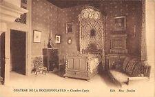 BF8302 chambre d arris chateau de la rochefoucauld france      France