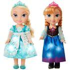 Disney Frozen Snow Glow Elsa & Anna Singing Dolls 2 Doll RARE Xmas 2015