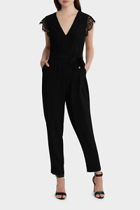 1a79e3b2b52 Image is loading NEW-Tokito-Collection-Lace-Bodice-Jumpsuit-Black